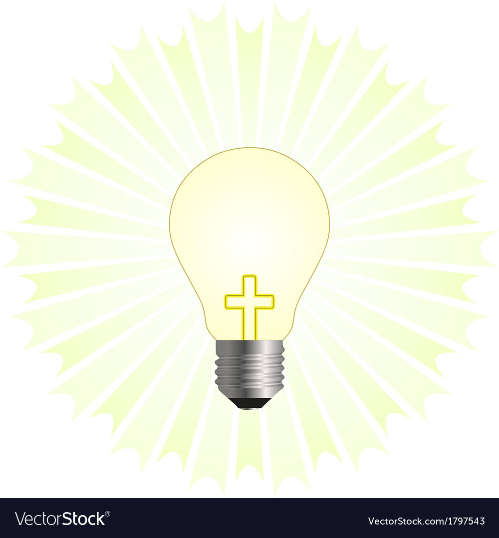 Christian religion vector image