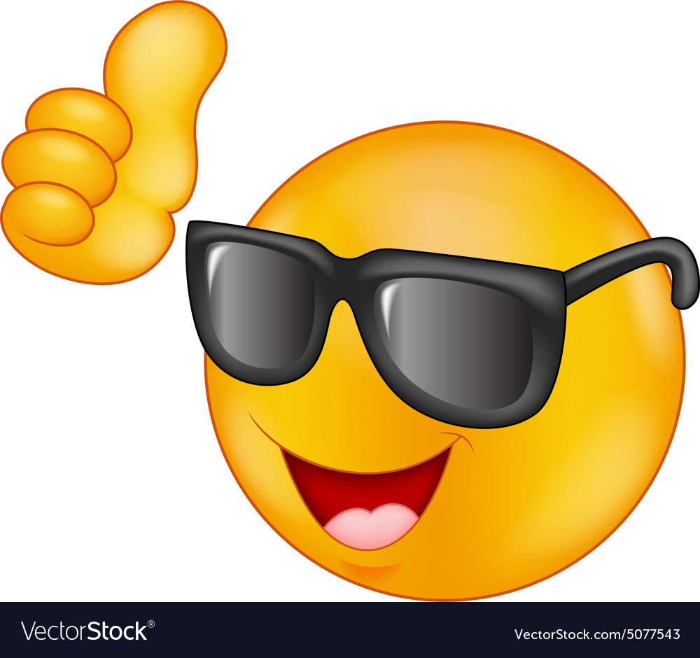 Image result for EMOGIE WITH SUNGLASSES