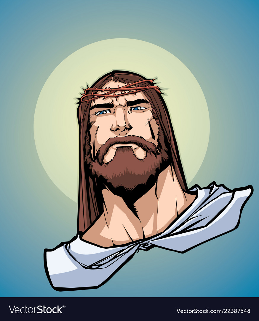 Jesus portrait icon