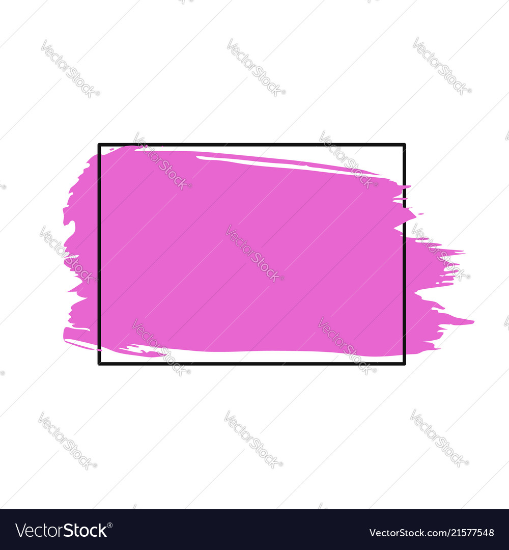 Paint brush stroke brush line or texture