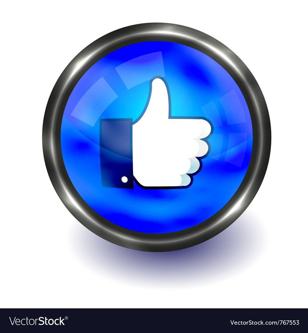 Facebook like logo