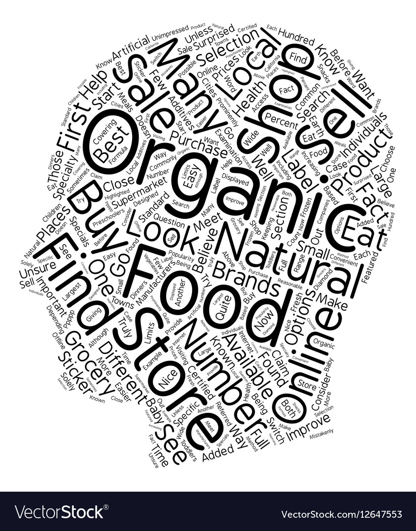 How to Buy Organic Foods 1 text background