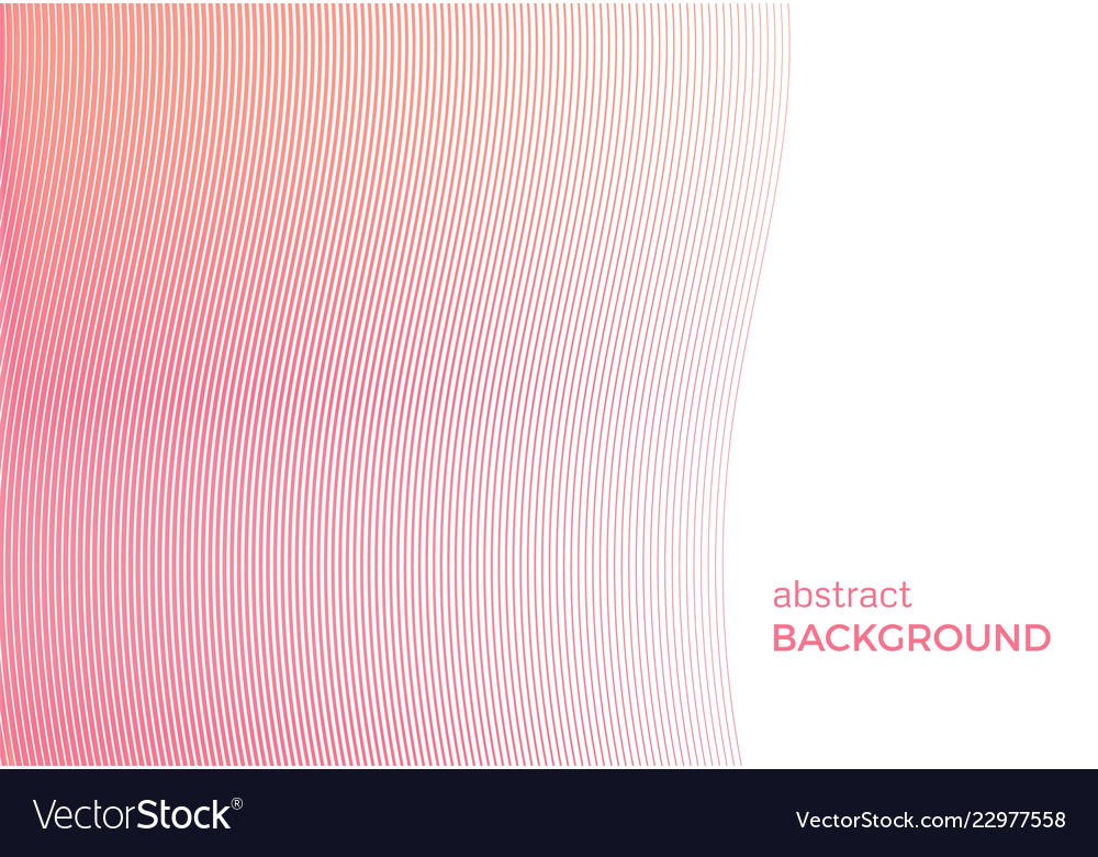 Abstract background with narrow wavy lines