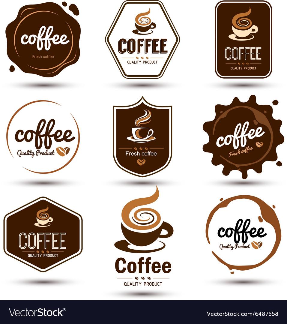 Coffe label