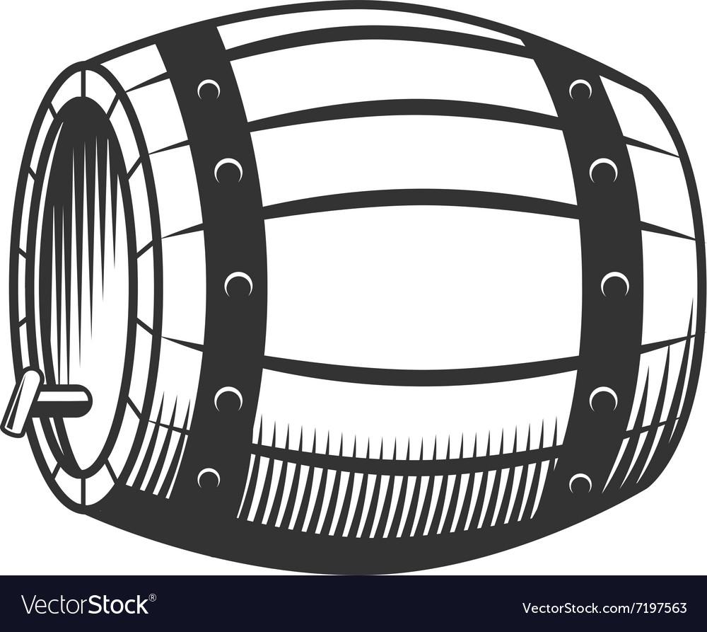 Beer wine barrel