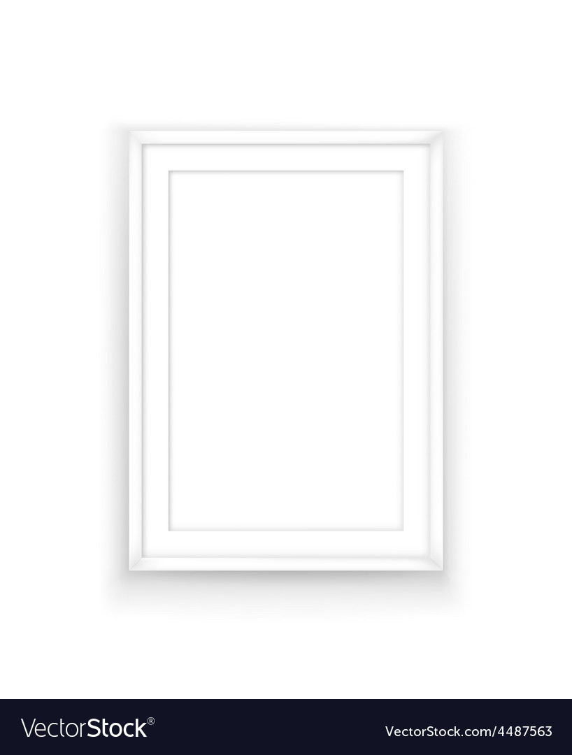 Poster frame design template Royalty Free Vector Image
