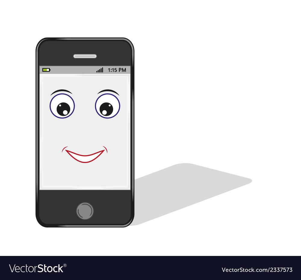 Smartphone Comic