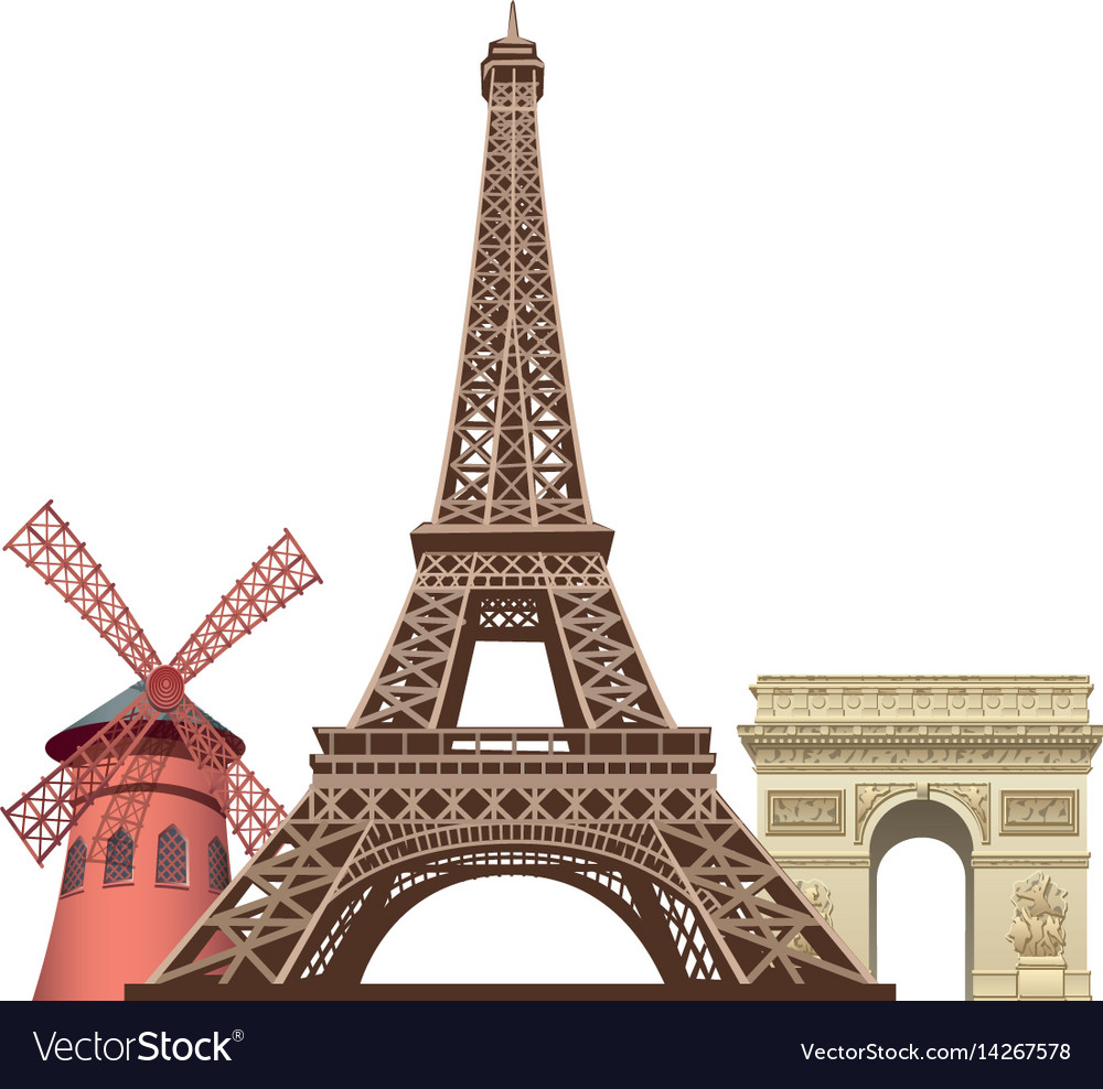 Landmarks in paris