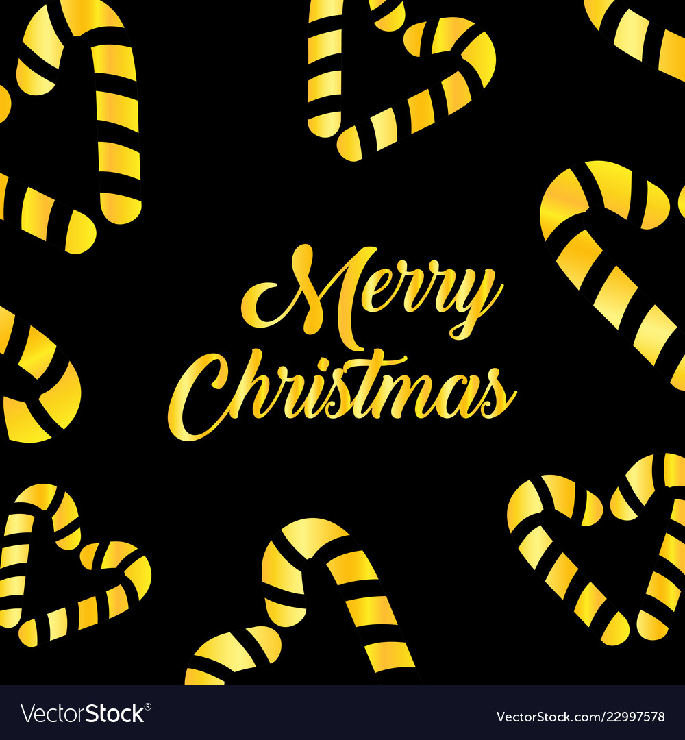 Merry christmas and happy new year luxury gold
