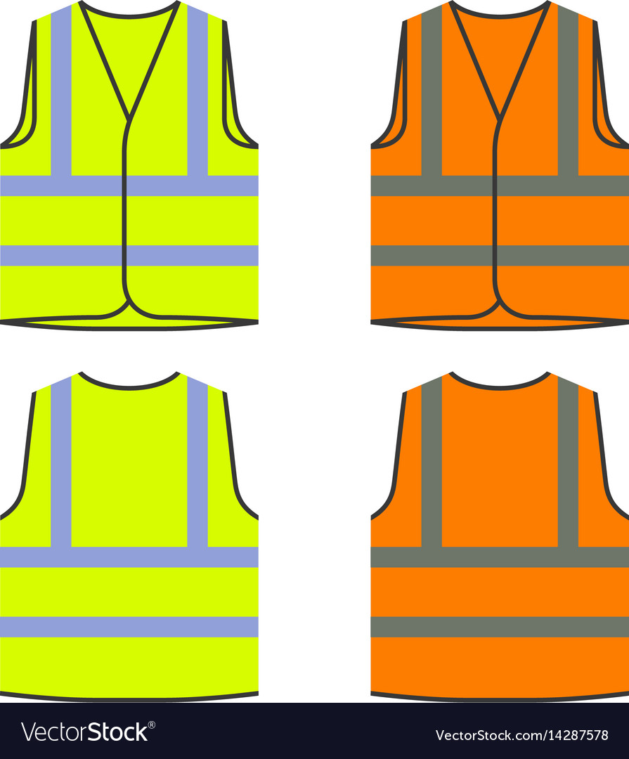 Safety Vest Vector