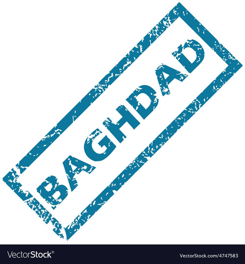 Baghdad rubber stamp
