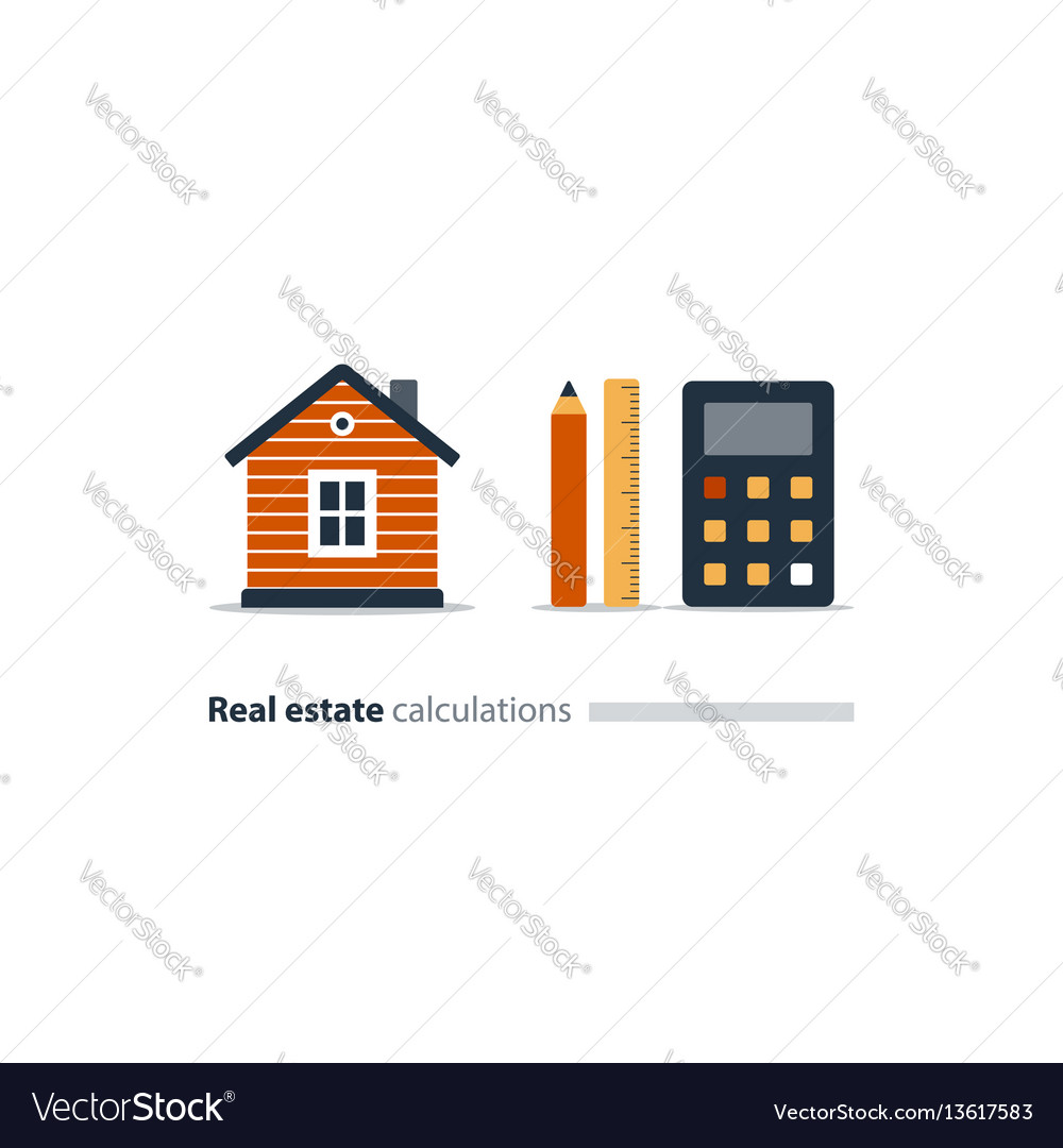 House maintenance calculation icon living expenses
