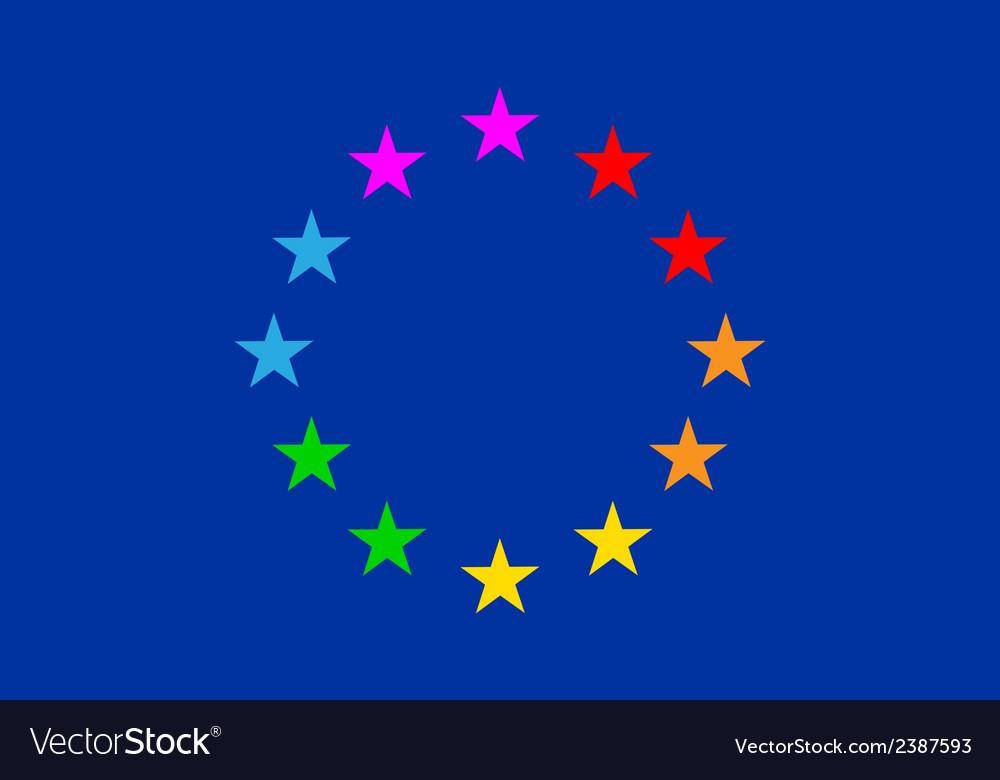 European Gay Flag