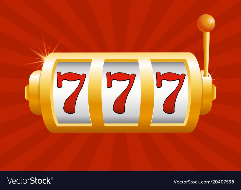 Golden slot machine wins