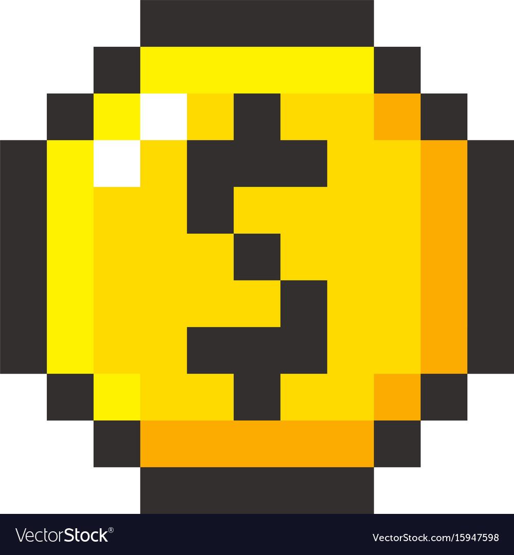 coin pixel art