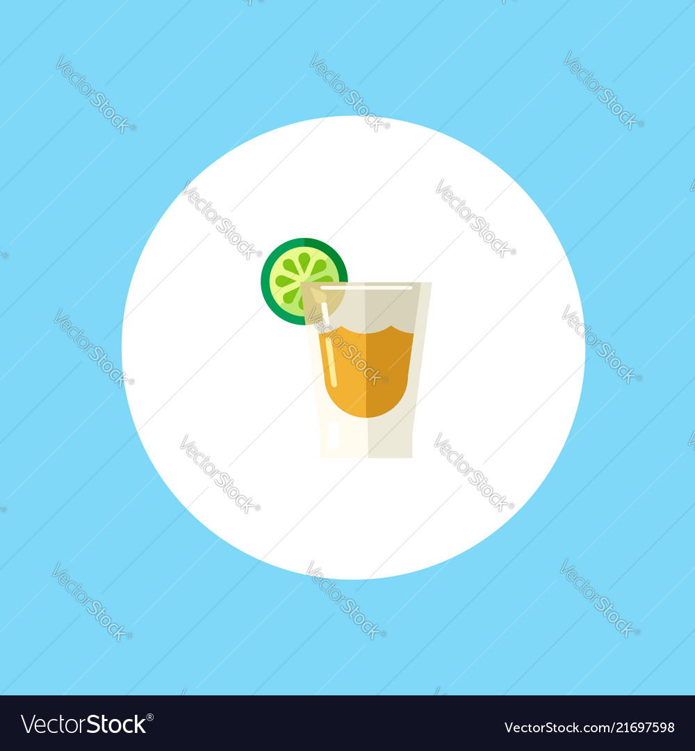 Tequila shot icon sign symbol