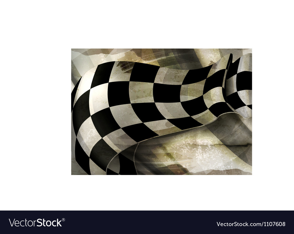 Background Horizontal Checkered old-style