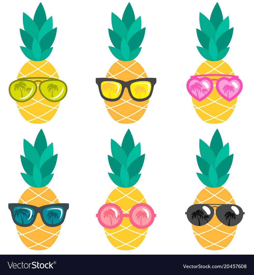 Pineapple With Sunglasses Clipart | David Simchi-Levi