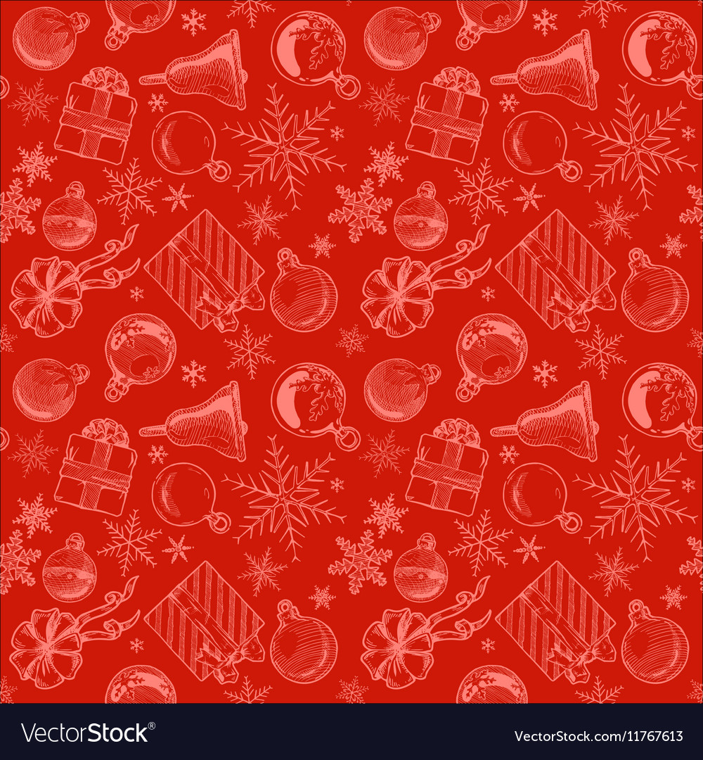 Background Seamless Tiling Vector Image