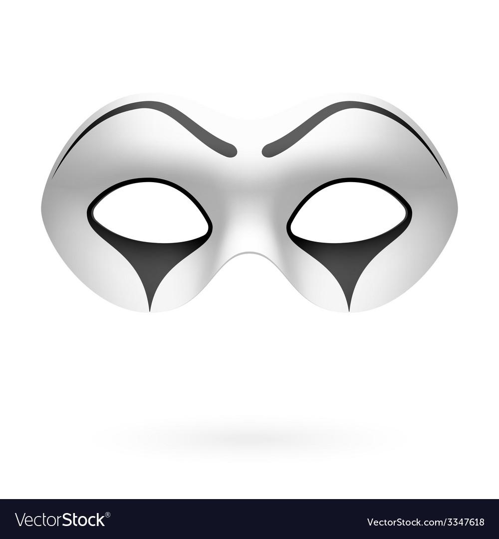 Clown mime mask