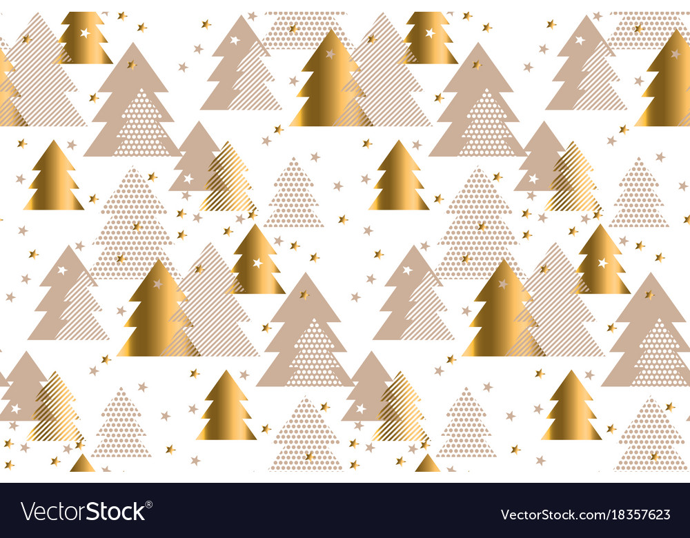 Elegant gold and baige pattern happy new year