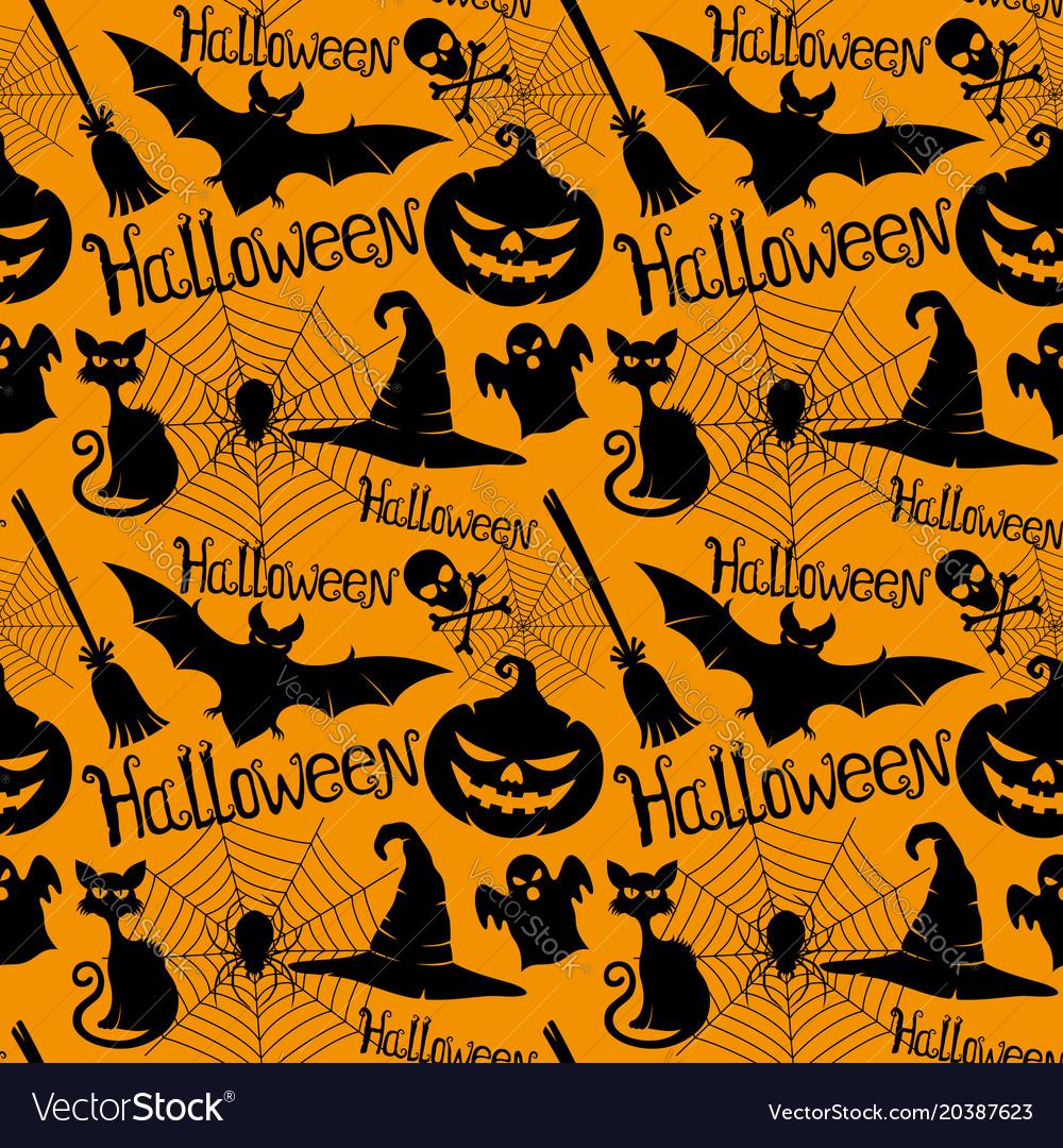 Halloween orange background