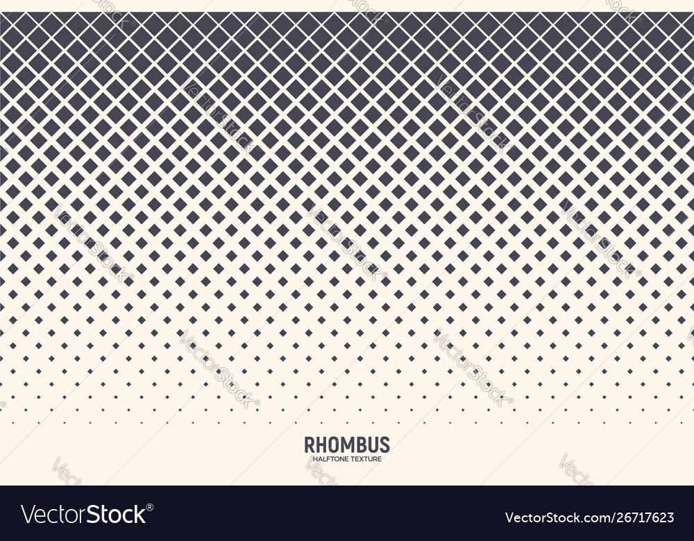 Rhombus abstract geometric technology background