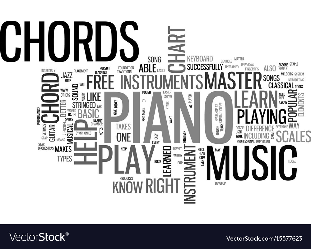 What can a free piano chord chart do for you text