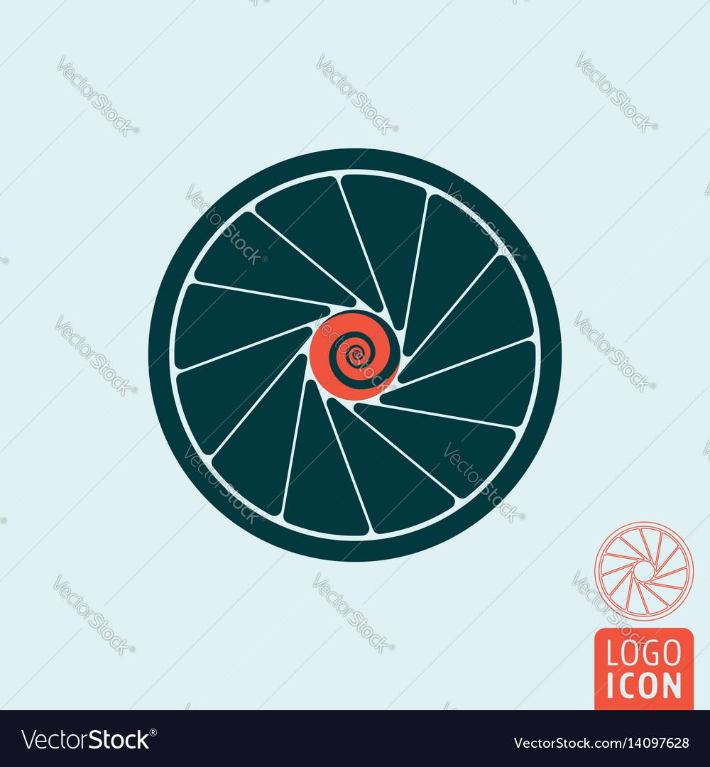 Turbine icon isolated