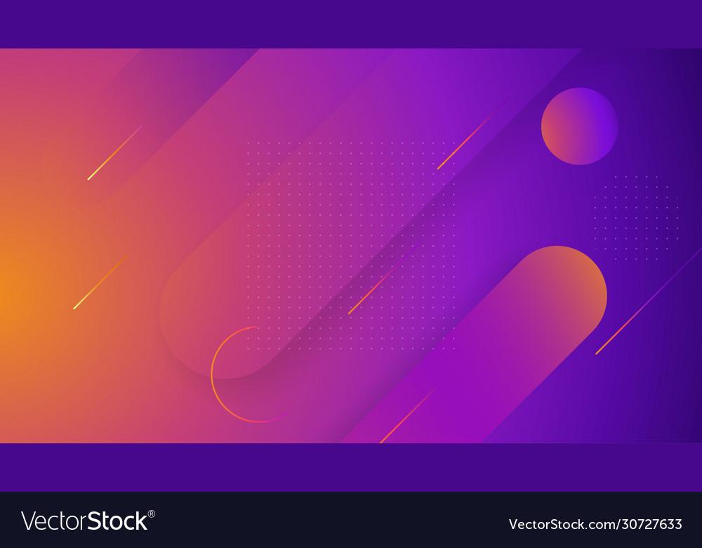 Creative geometric wallpaper for your website hero