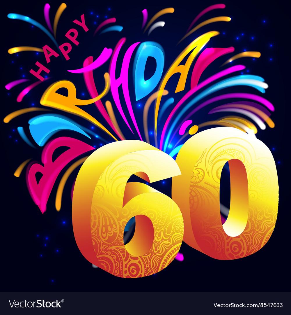 Happy Birthday Zum 60