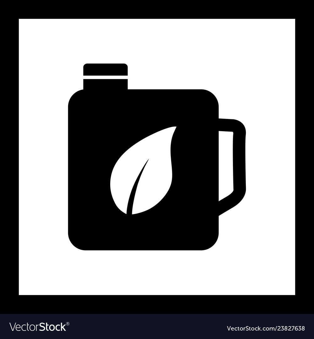 Eco oil icon