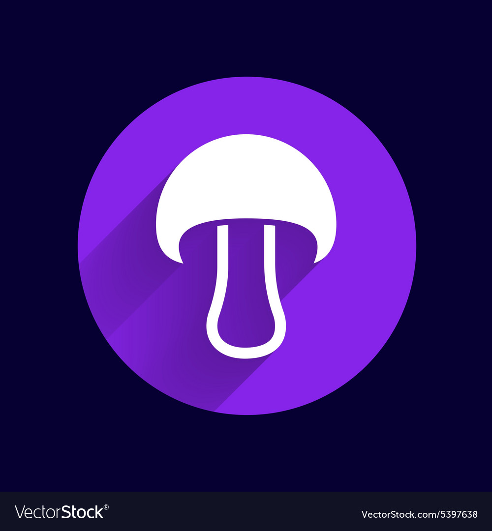 Mushroom sign icon Boletus mushroom symbol