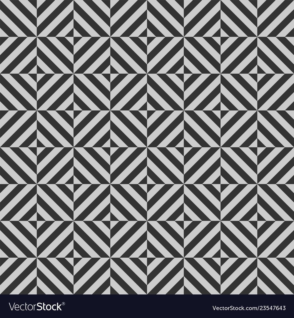 Geometric seamless pattern with stripes