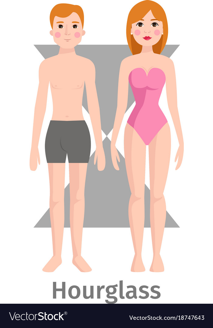 Hourglass body shape types