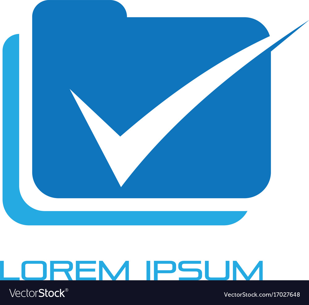 Document check office logo