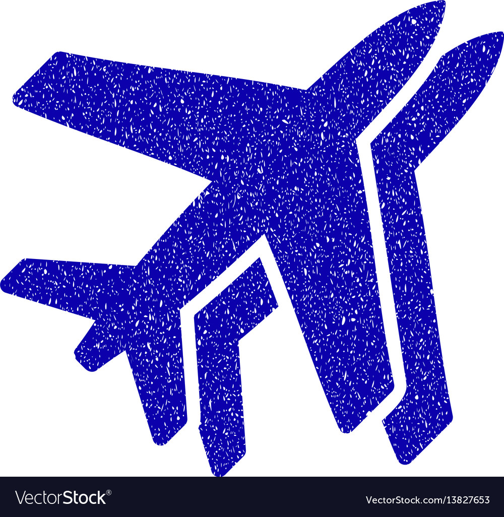 Airlines icon grunge watermark