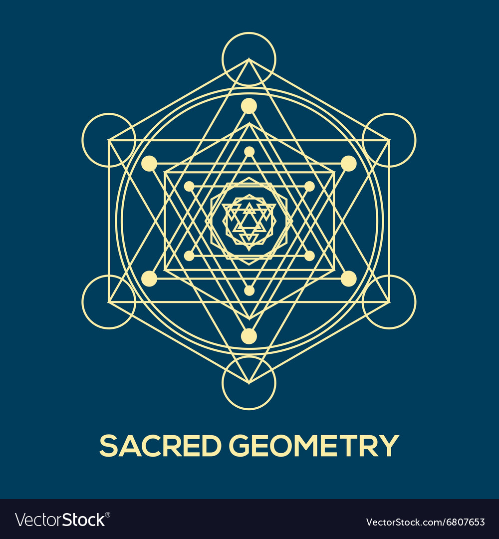 Sacred geometry Hipster symbols and elements