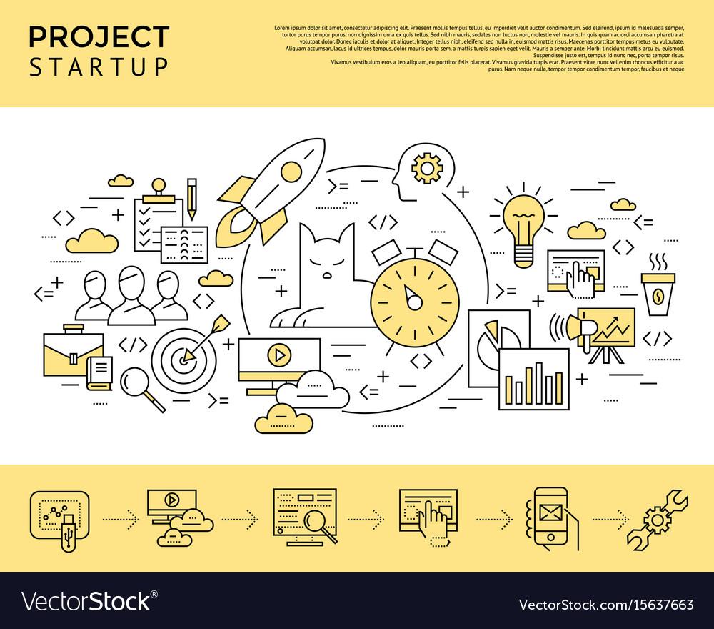 Digital yellow startup business