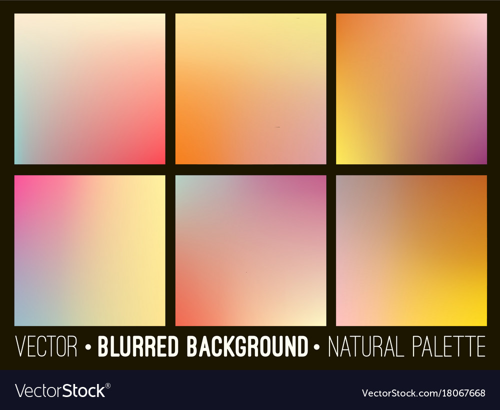 Colorful gradient abstract backgrounds se