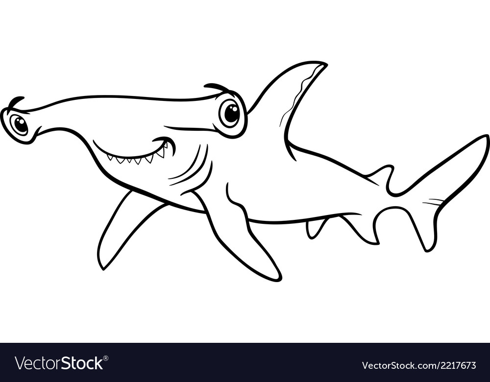 Shark Coloring Book