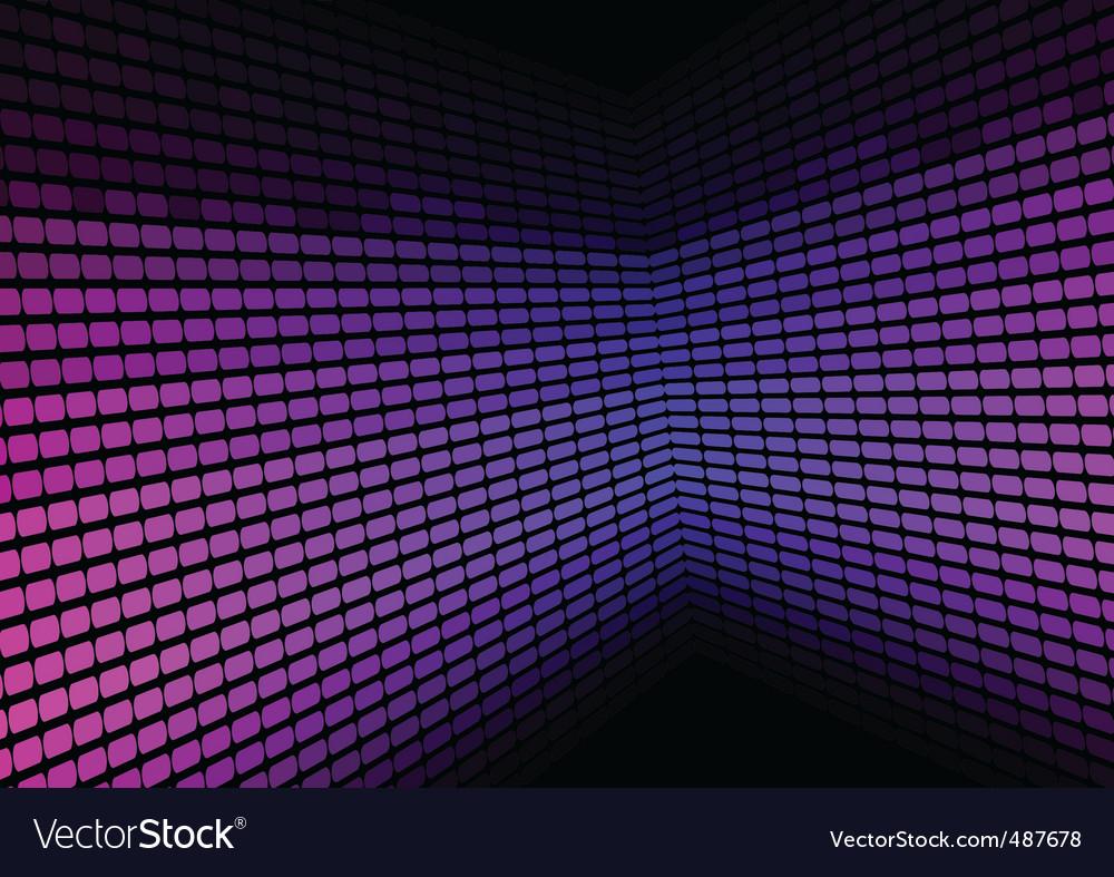 Abstract background violet equalizer vector image