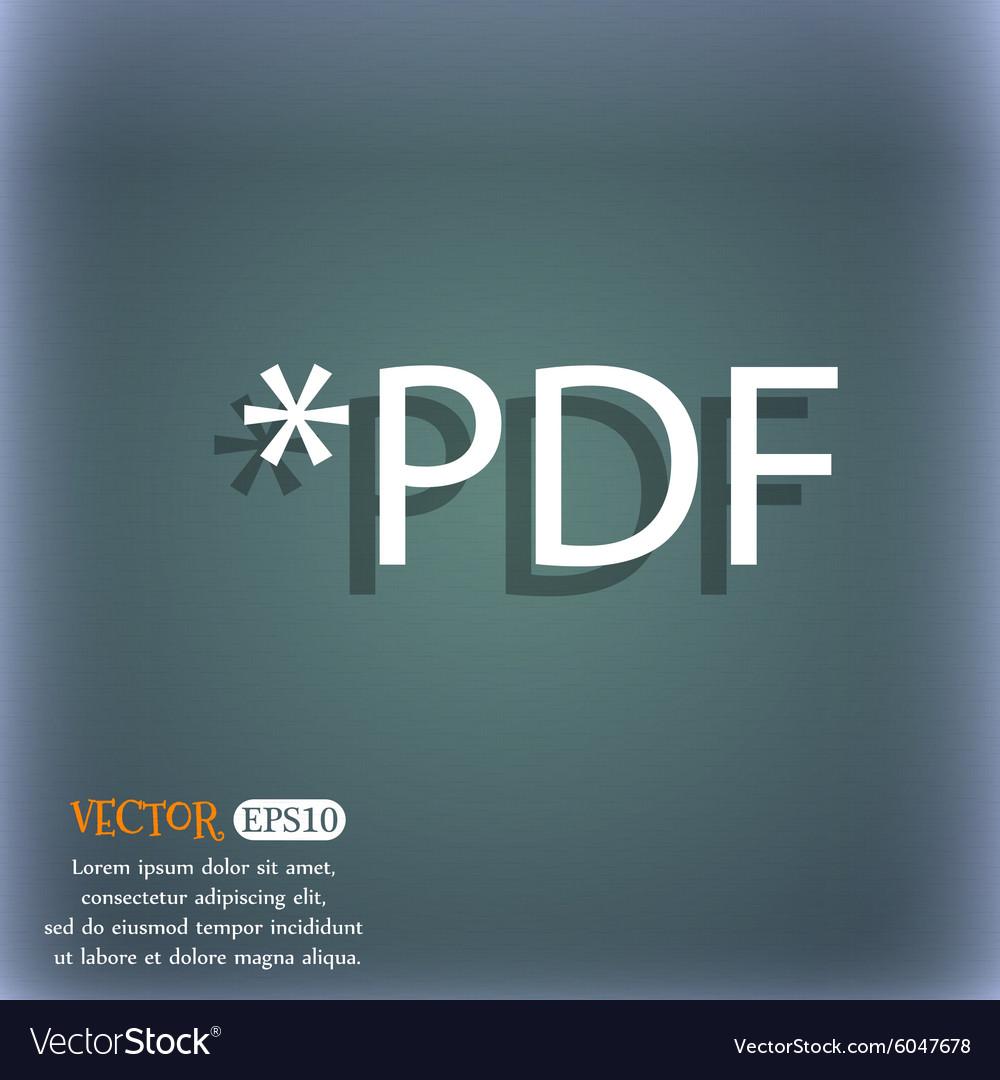 PDF file document icon Download pdf button PDF