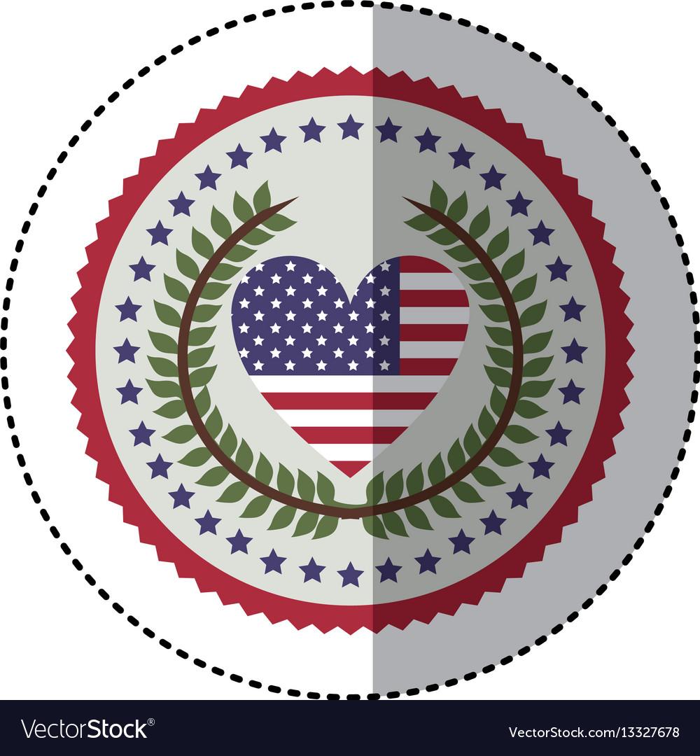 Symbol american seal sign icon