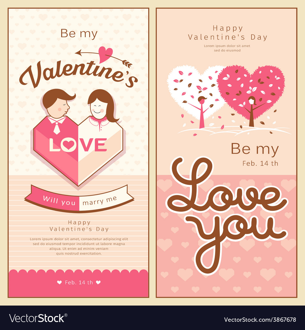 Valentines collections design