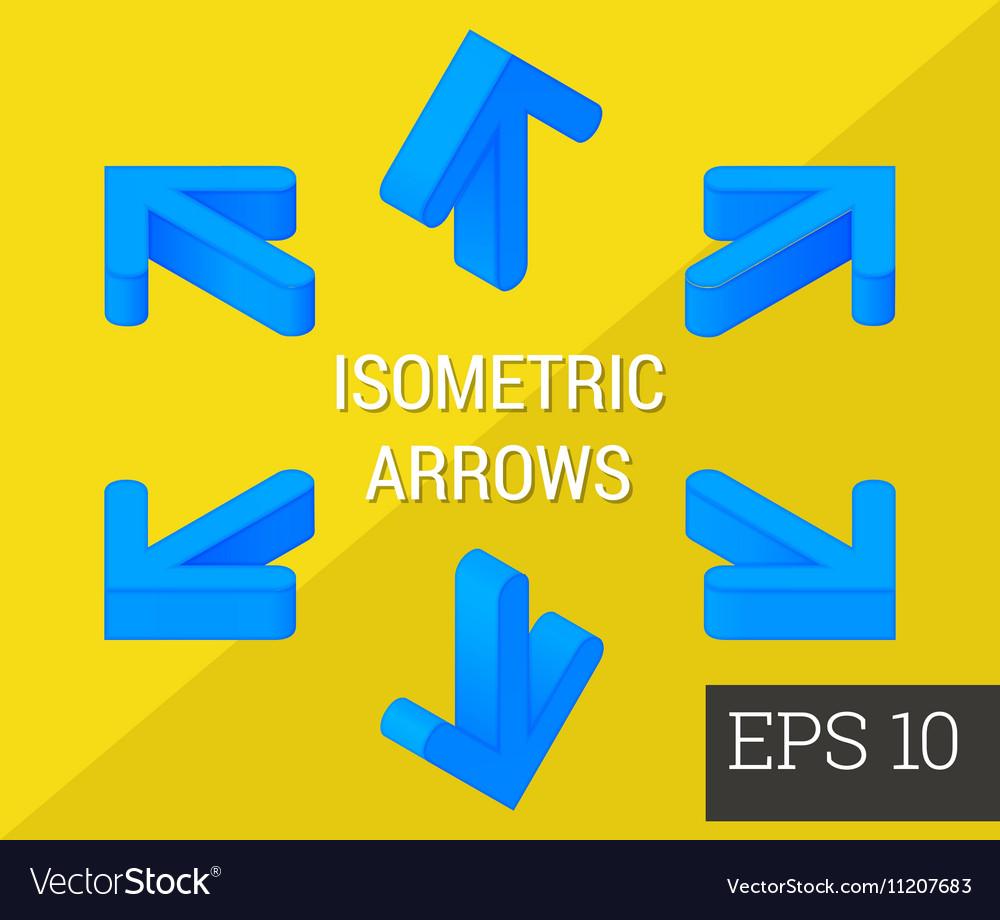 Arrows isometric