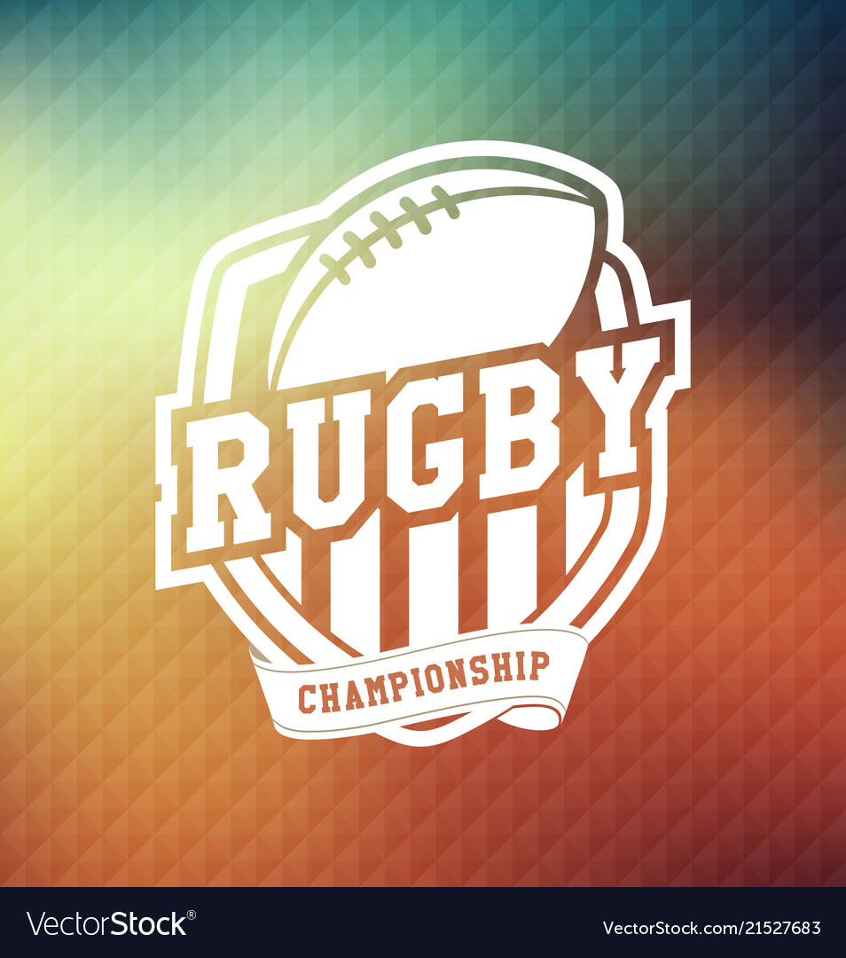 Rugby championship logo sport