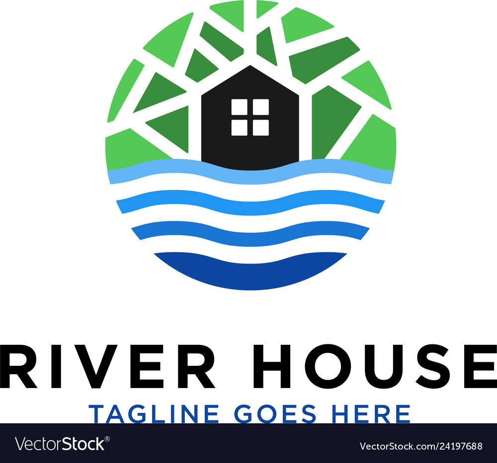 River house logo design inspiration