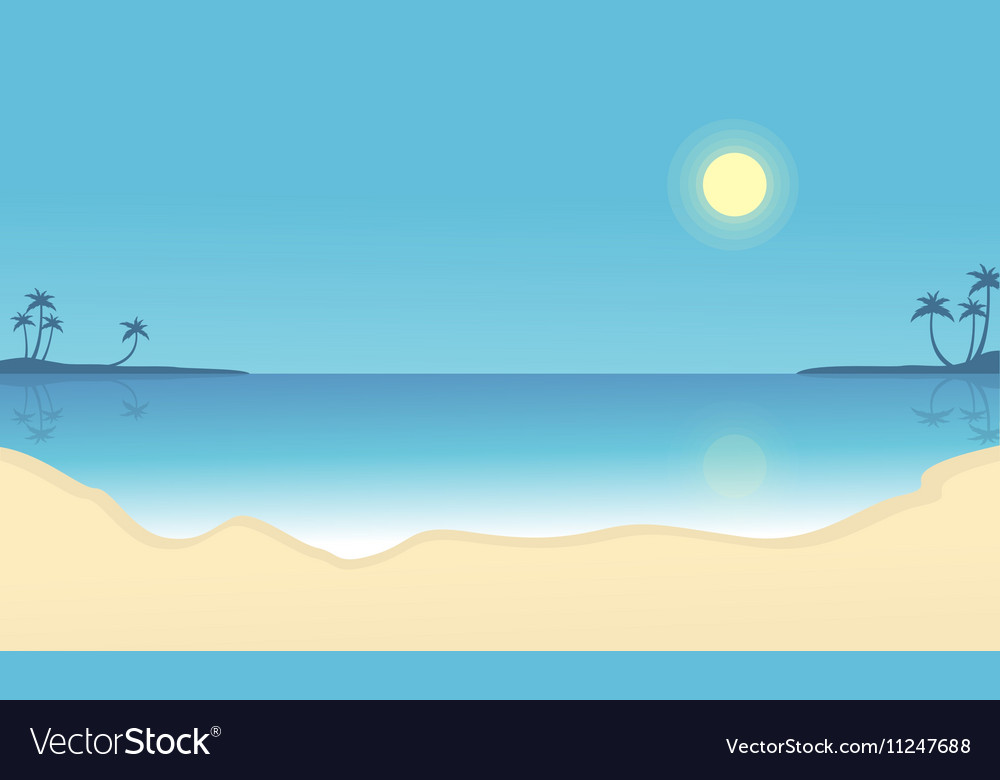 Flat Silhouettes Royalty Free Vector Image