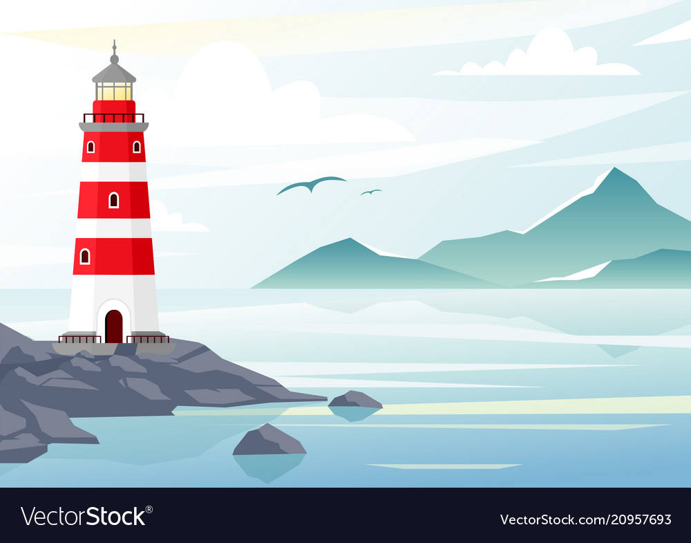 Blue sea background with